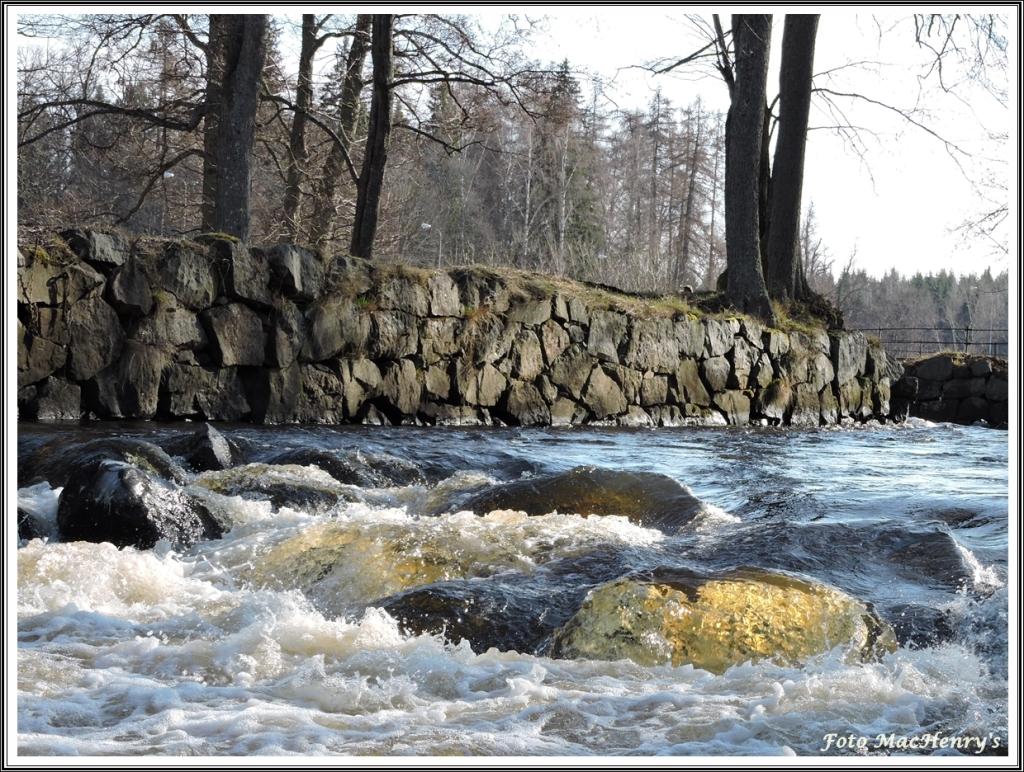 Vackra miljöer och massor med vatten!